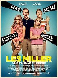 affiche sortie dvd les miller, une famille en herbe