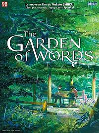 affiche sortie dvd the garden of words