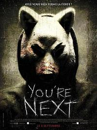 affiche sortie dvd you're next