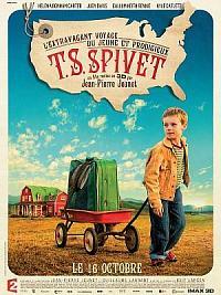 affiche sortie dvd l'extravagant voyage du jeune et prodigieux t.s. spivet