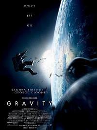 affiche sortie dvd gravity