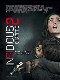 affiche sortie dvd insidious : chapitre 2