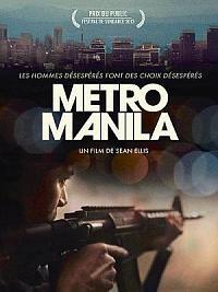 affiche sortie dvd metro manila