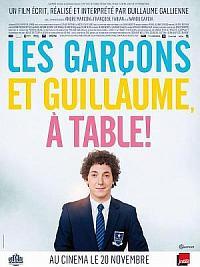 affiche sortie dvd les garcons et guillaume, a table !