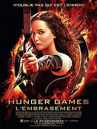 affiche sortie dvd hunger games 2 - l'embrasement