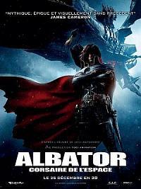 affiche sortie dvd albator, corsaire de l'espace