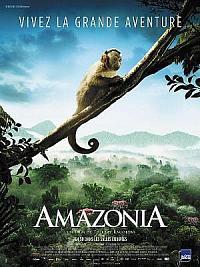 affiche sortie dvd amazonia
