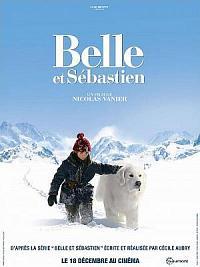 affiche sortie dvd belle et sebastien