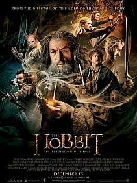 affiche sortie dvd le hobbit 2 - la desolation de smaug