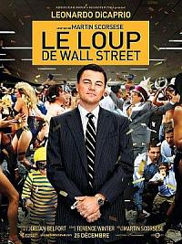 affiche sortie dvd le loup de wall street