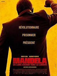 affiche sortie dvd mandela, un long chemin vers la liberte