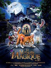 affiche sortie dvd le manoir magique