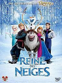 affiche sortie dvd la reine des neiges