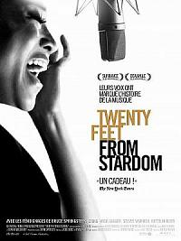 affiche sortie dvd 20 feet from stardom