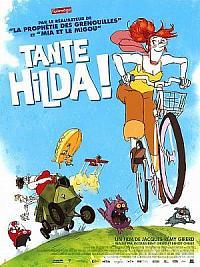 affiche sortie dvd tante hilda !