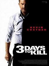 affiche sortie dvd 3 Days to Kill