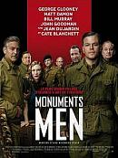 affiche sortie dvd Monuments Men
