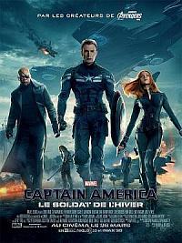 affiche sortie dvd captain america 2 - le soldat de l'hiver