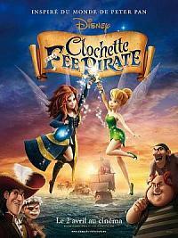 affiche sortie dvd clochette et la fee pirate