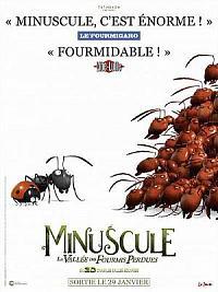 affiche sortie dvd minuscule - la vallee des fourmis perdues
