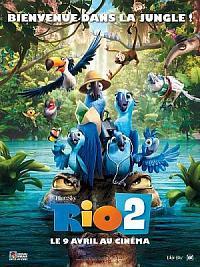 affiche sortie dvd rio 2