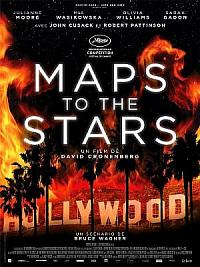 affiche sortie dvd maps to the stars