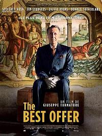 affiche sortie dvd the best offer