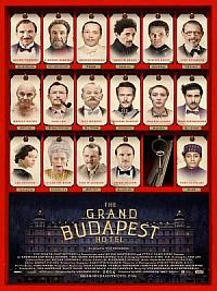 affiche sortie dvd the grand budapest hotel