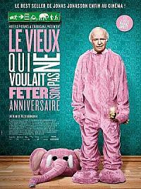 affiche sortie dvd le vieux qui ne voulait pas feter son anniversaire
