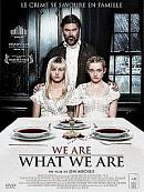 affiche sortie dvd we are what we are
