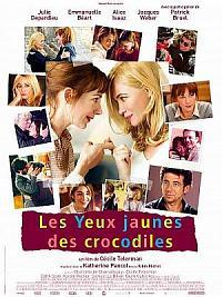 affiche sortie dvd les yeux jaunes des crocodiles