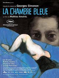affiche sortie dvd la chambre bleue