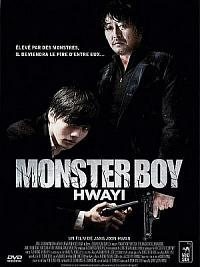 affiche sortie dvd monster boy : hwayi