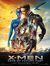 affiche sortie dvd x-men: days of future past