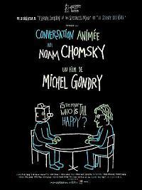 affiche sortie dvd conversation animee avec noam chomsky