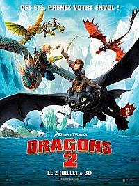 affiche sortie dvd dragons 2