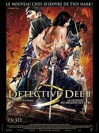 affiche sortie dvd detective dee 2 - la legende du dragon des mers