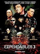 affiche sortie dvd Expendables 3