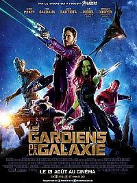 affiche sortie dvd les gardiens de la galaxie