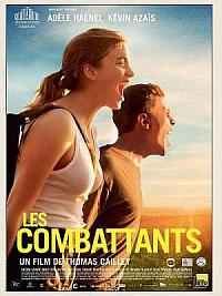 affiche sortie dvd les combattants