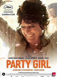 affiche sortie dvd party girl