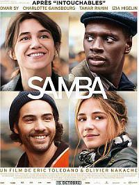 affiche sortie dvd samba