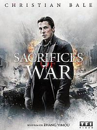 affiche sortie dvd sacrifices of war