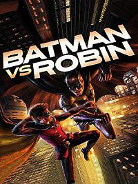 affiche sortie dvd batman vs. robin