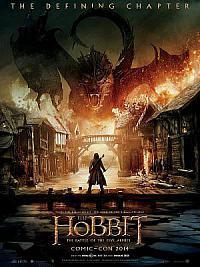 affiche sortie dvd le hobbit 3 - la bataille des cinq armees