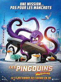 affiche sortie dvd les pingouins de madagascar