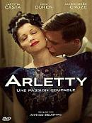 affiche sortie dvd Arletty, une passion coupable