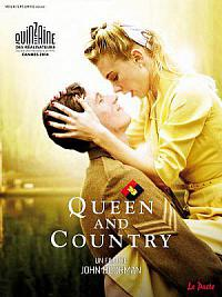 affiche sortie dvd queen and country