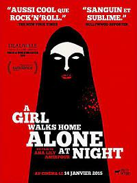 affiche sortie dvd a girl walks home alone at night
