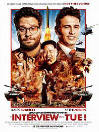 affiche sortie dvd the interview